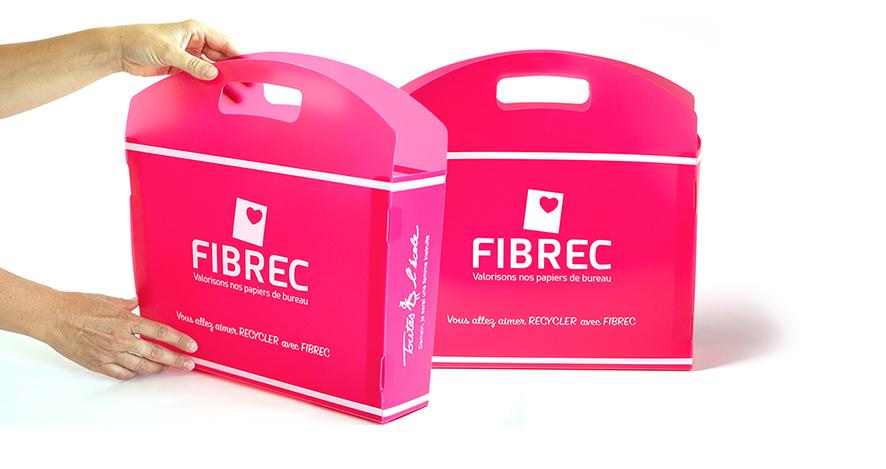 fibrec papier recyclé